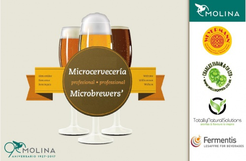 Ricardo Molina at the Barcelona Beer Festival 2017 (24-26 March 2017) BOOTH: 9