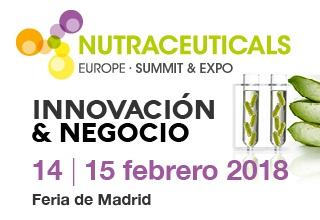 Ricardo Molia au NUTRACEUTICALS EUROPE 2018 (Madrid, 14-15 Février, Madrid) STAND: E38