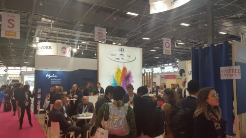 Images of In-Cosmetics Global,  Paris 2019