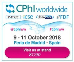 Ricardo Molina at CPHI show 2018 (Madrid, Spain, 9-11 October) BOOTH: 8G90