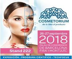 Ricardo Molina at COSMETORIUM show 2018 (Barcelona, Spain, 26-27 September) BOOTH: 222