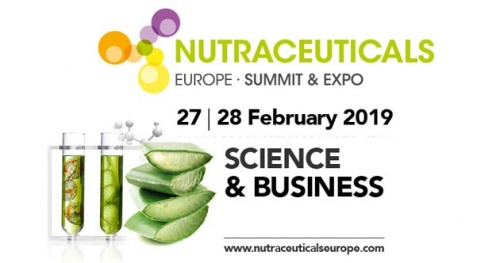Ricardo Molina at NUTRACEUTICALS 2019 (27-28 February) - Booth: F33