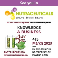 Ricardo Molina at NUTRACEUTICALS , 4-5 March, Madrid.  STAND F33