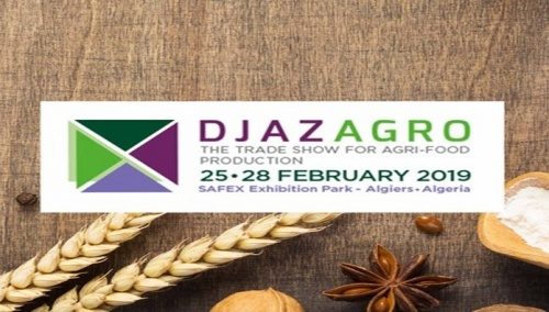Ricardo Molina at DJAZAGRO 2019 (Algiers, 25-28 February). BOOTH: HALL A J053